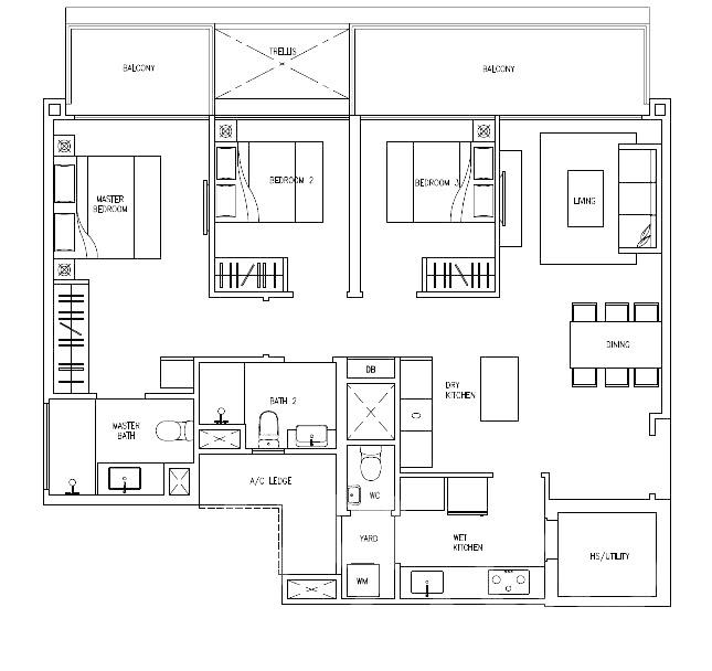 Citylife Tampines Ec A Floor Plan Analysis